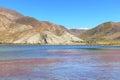Tibet harmed scenery Royalty Free Stock Photo
