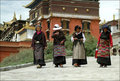 Tibet - Ladies Royalty Free Stock Images