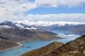 Tibet lake Stock Photos