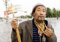 Tibet man Royalty Free Stock Photography