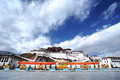 Tibet - Potala Palace Royalty Free Stock Photo