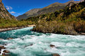 Tibet river Royalty Free Stock Photo