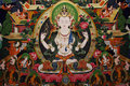 Tibet Thangka Painting Stock Images