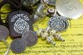 Tibetan artifacts Royalty Free Stock Photo
