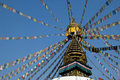Tibetan Buddhism Stupa Royalty Free Stock Photo