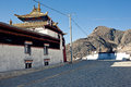 Tibetan buddhism temples ,tibetan Stock Photos