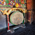Tibetan drum Stock Photography