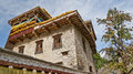 A tibetan folk house Stock Photography