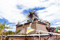Tibetan house at the lhasa tibet Stock Photography