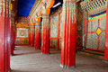 Tibetan Langmusi temple Royalty Free Stock Photo