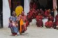 Tibetan Mask Dance 1 Royalty Free Stock Image