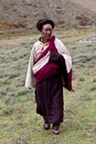 Tibetan nomad Royalty Free Stock Photos