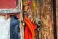 Tibetan plateau scene tibetan folk house taken in the street of lhasa tibet Royalty Free Stock Images