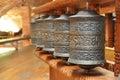 Tibetan prayer bells Royalty Free Stock Photo