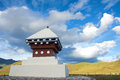 Tibetan stupa Royalty Free Stock Photo