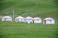 Tibetan tent Stock Image