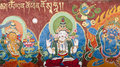 Tibetan Thangka Royalty Free Stock Photo