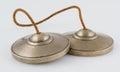 Tibetan Tingsha Meditation Bells. Royalty Free Stock Photo