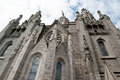 Tibidabo barcelona church in spain tourist destination Royalty Free Stock Photography