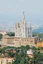 Tibidabo church Royalty Free Stock Image