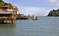 Tiburon california waterfront on the san francisco bay Royalty Free Stock Image
