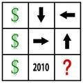 Tic tac money Royalty Free Stock Photo