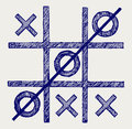 Tic tac toe Royalty Free Stock Photo