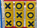 Tic tac toe noughts and crosses Royalty Free Stock Photo
