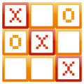 Tic tac toe vector illustration Stock Photography