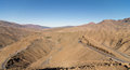 Tichka pass in morocco view on mountain Royalty Free Stock Photography