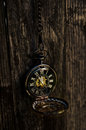 Tick Tock - Vintage Pocket Watch Royalty Free Stock Photo