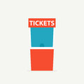 Ticket box office icon Royalty Free Stock Photo