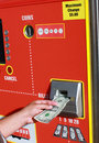 Ticket Machine Royalty Free Stock Image