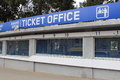 Ticket office tbilisi georgia april dinamo arena on april in tbilisi georgia with a capacity of the stadium is the largest in Royalty Free Stock Image