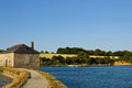 Tide mill - Morbihan Gulf Stock Photo