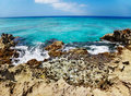 Tide pool at Smith Cove, Grand Cayman Royalty Free Stock Image