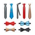 Tie And Bow Tie Set