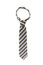 Tie a colorful striped. Royalty Free Stock Photo