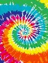 Tie dye background brilliant colored Stock Image