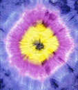 Tie dye fabric texture background Stock Image