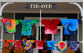 Tie-Dye Shirts Royalty Free Stock Photo