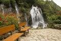 Tien Sa waterfall SAPA,Vietnam Royalty Free Stock Photo