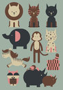 Tiere illustration Stockfotos