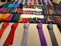 Ties and bow ties Royalty Free Stock Photo