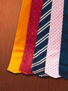 Ties set Stock Photo