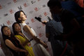 Tiff toronto september chinese actress du juan arrives at the toronto international film festival for her film american dreams in Stock Photo