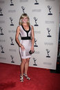 Tiffany Coyne arrives at the ATAS Daytime Emmy Awards Nominees Reception Royalty Free Stock Images