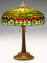 Tiffany Table Lamp Royalty Free Stock Image