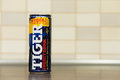Tiger energy drink Royalty Free Stock Photo
