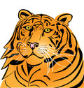 Tiger head logo Stock Photo